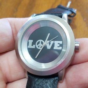 Lucky Brand Watch Love Peace